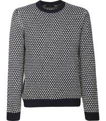 fay jacquard sweater