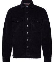 corduroy overshirt overhemd casual blauw tommy hilfiger