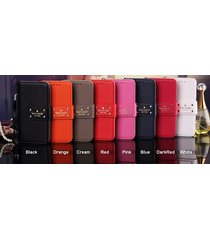 *new ks style leather wallet flip case cover for apple iphone7/8 plus iphonex