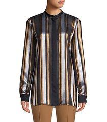 brayden striped blouse