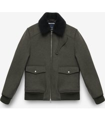 larusmiani wool aviator jacket transatlantic