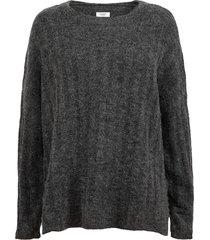 sweater jacqueline de yong niñe gris - calce holgado