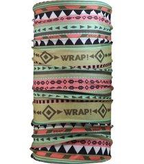 bandana multifuncional tribal multicolor wild wrap