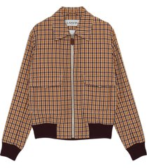 gecontroleerd harrington blouson