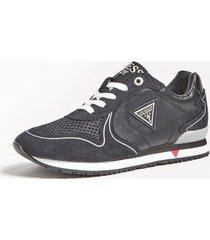 sneakersy z zamszowymi wstawkami model glorym (27-34)