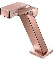torneira para banheiro mesa  stillo cobre escovado bica baixa - docol - docol