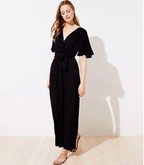 loft loft beach short sleeve maxi dress