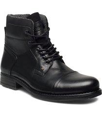 6144 snörade stövlar svart playboy footwear