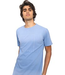 camiseta hang loose cloud azul - azul - masculino - dafiti