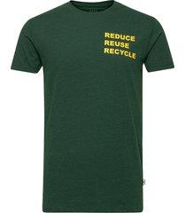 tim recycle t-shirts short-sleeved grön kronstadt