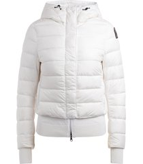 parajumper oceanis 411 white down jacket with hood