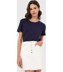 camiseta azul navy gap