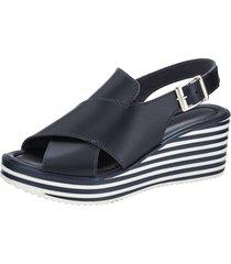 sandaletter wenz marinblå