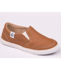 zapatilla marron grow pancha