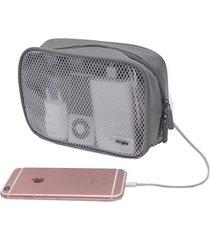 bolso pequeño inteligente ringke pouch m viajera / accesorios - gris