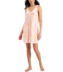 jenni printed tank chemise nightgown, created for macy's