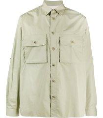 paul smith cargo shirt - green