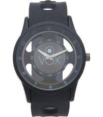 reloj analogo casual negro vox