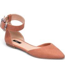 onlanas-6 life buckle heel ballerina ballerinaskor ballerinas rosa only