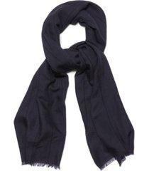 steve madden tick-stitch oblong scarf