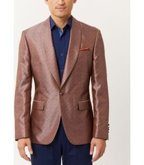 tallia men's mix slim fit dinner blazer