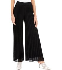 alfani pleated wide-leg pants, created for macy's