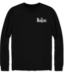 beatles men's long-sleeve let it be band t-shirt
