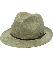 catarzi ribbed sun hat - green