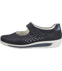 skor ara mörkblå
