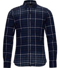 shirt skjorta casual blå replay