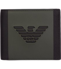 emporio armani metallique wallet