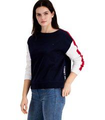 tommy hilfiger colorblocked sweatshirt