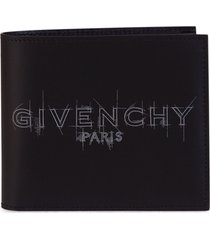 givenchy graffiti logo wallet