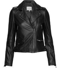 josita leather jacket läderjacka skinnjacka svart andiata