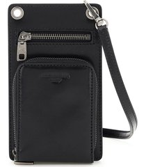 dolce & gabbana phone pouch with wallet and shoulder strap