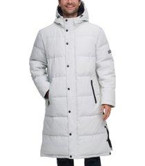 dkny long hooded parka men's jacket, created for macy's