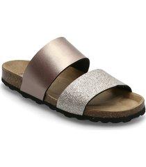 frey21 shoes summer shoes flat sandals silver re:designed est 2003