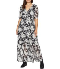 plus size women's sanctuary florence floral maxi dress