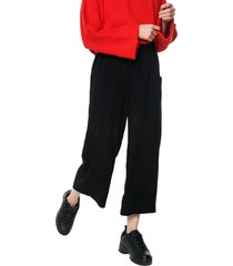 pantalón negro mng