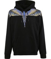 marcelo burlon wings regular hoodie