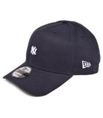boné new era new york yankees 9forty mini logo masculino