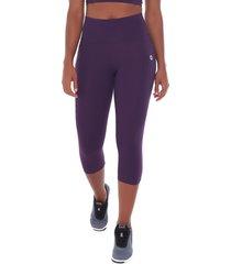 calça corsário sandy fitness athletic roxo