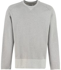 universal works cotton crew-neck sweatshirt