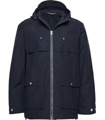 d2. the coastal weather slicker parka jas blauw gant