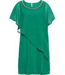 abito con applicazioni (verde) - bodyflirt boutique