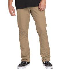 pantalon clasico hombre khaki volcom