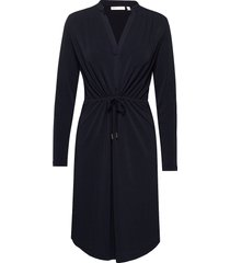alanaiw dress knälång klänning blå inwear