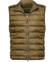 the light down gilet vest groen gant