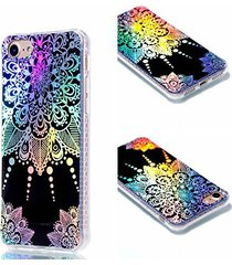 iphone 7 case,iphone 8 case,xyx [pointer mandala] colorful plating transparent s