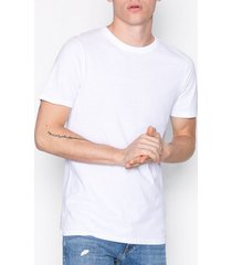 jack & jones jjeplain tee ss o-neck noos t-shirts & linnen vit